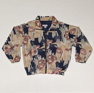 Vintage Stunt Collection Silk Windbreaker Jacket